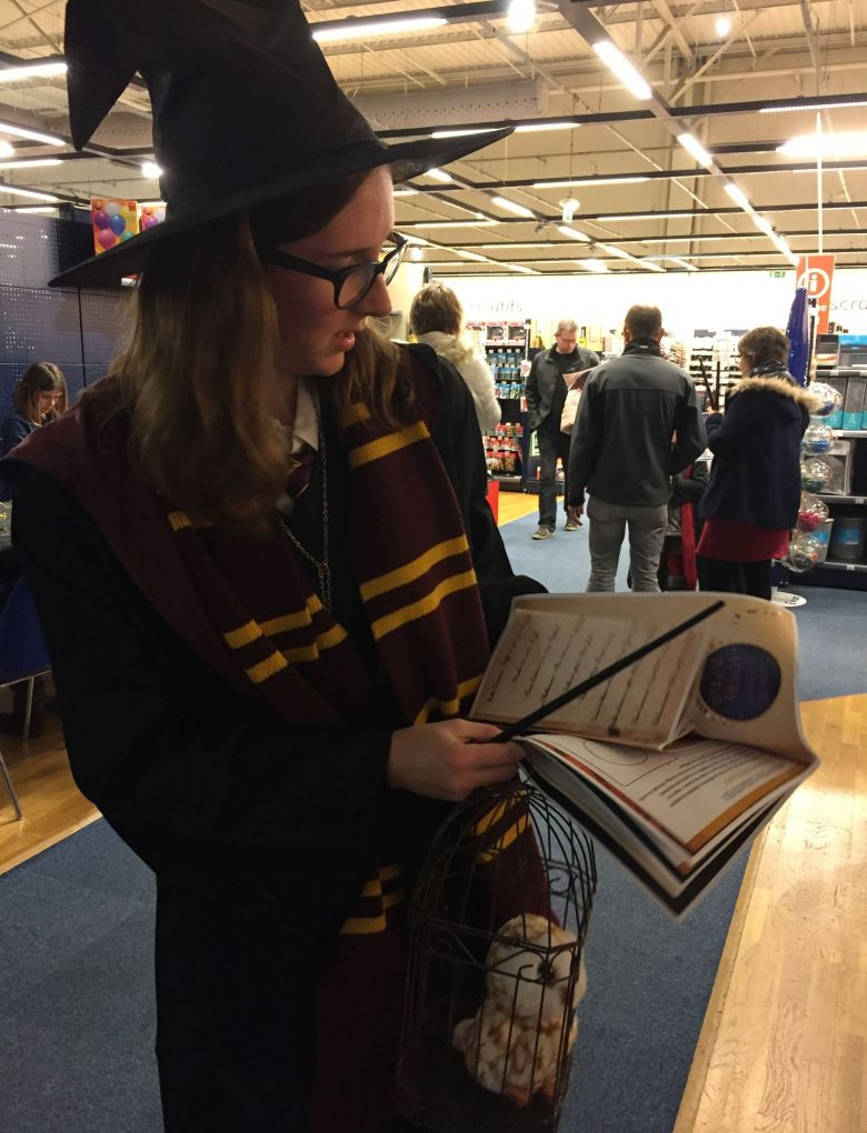 A 20 ans, Camille est fan d'Harry Potter