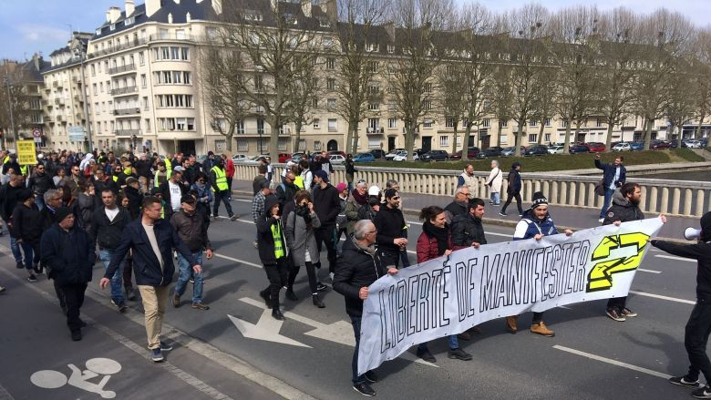 manifestation 6 avril 2019 Caen