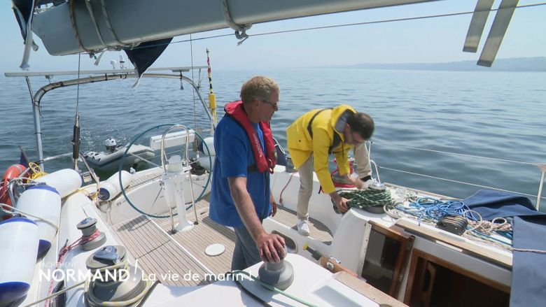 En immersion avec Thierry, skipper normand / © France 3 Normandie/Media TV