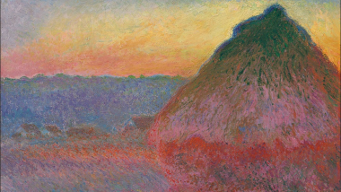 "Une ""Meule"" de Monet adjugée 81,4 millions de dollars, un record / © christies.com"