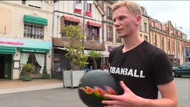 Valentin Chemin, champion de foot freestyle / © F3 Normandie