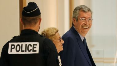 Patrick Balkany le 13 septembre 2019 / © Photo : Thomas SAMSON / AFP
