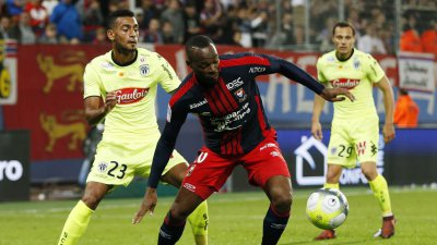 Ligue 1 : le SM Caen impuissant face à Angers