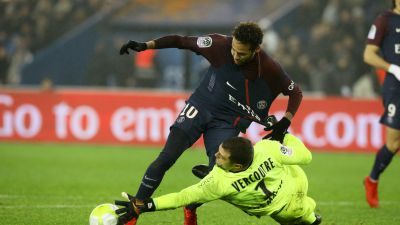Paris impose sa loi face à Caen