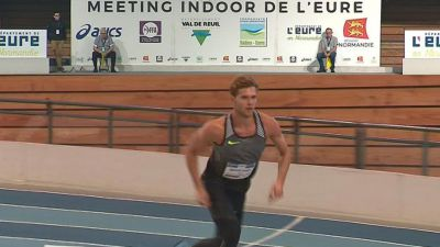 Kevin Mayer superstar du meeting d'athlétisme de Val de Reuil (Eure)