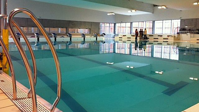 Un nouveau centre aquatique pr sent au public ce weekend for Piscine louviers