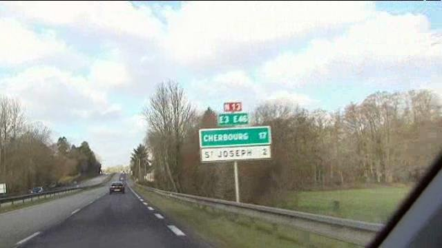 Rn 13 un projet d 39 am nagement en voie express france 3 basse normandie - Journal basse normandie ...
