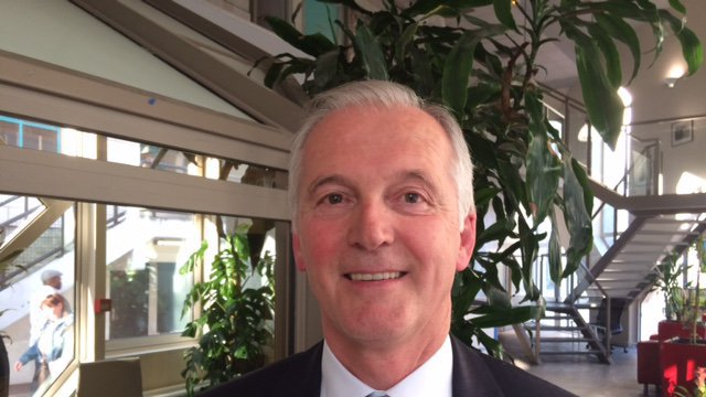 VIDEO : interview de Michel Mallet, président du club de foot Quevilly Rouen Métropole