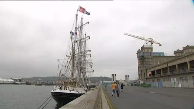 Le belem de retour cherbourg france 3 basse normandie - Journal basse normandie ...