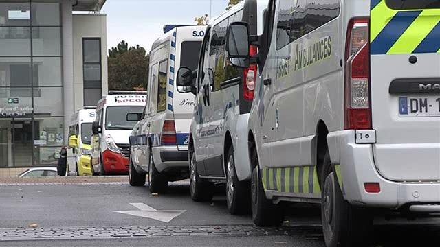D penses de sant l 39 inqui tude des ambulanciers france 3 basse normandie - Journal basse normandie ...