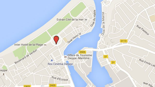 © Capture carte Google Map