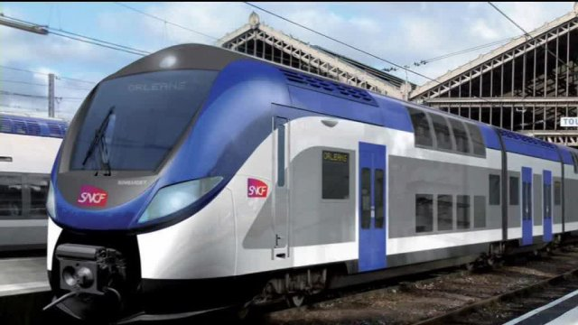 Train Bombardier (image de synthèse) / © France 3 Normandie