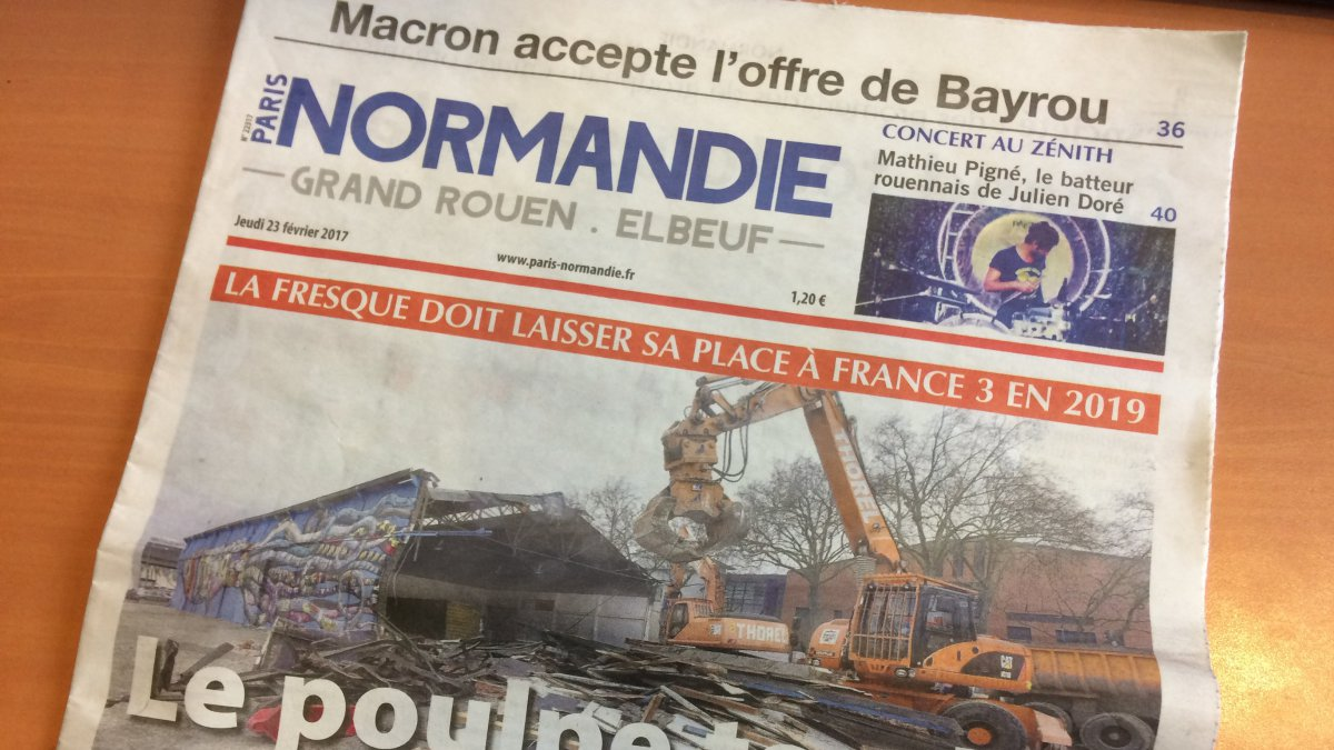 Paris Normandie: le belge Rossel favori pour le rachat du journal