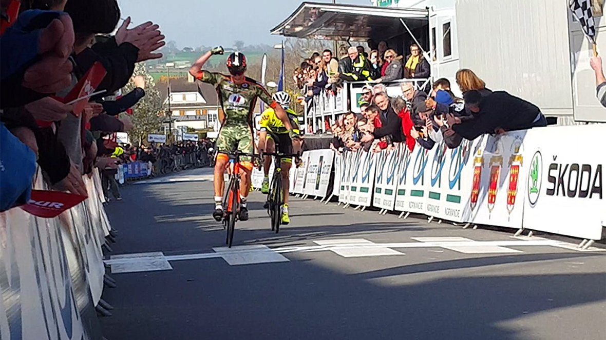 Le Manchois Anthony Delaplace remporte le 37e Tour de Normandie