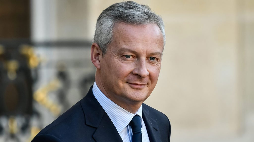 Bruno Le Maire, officiellement