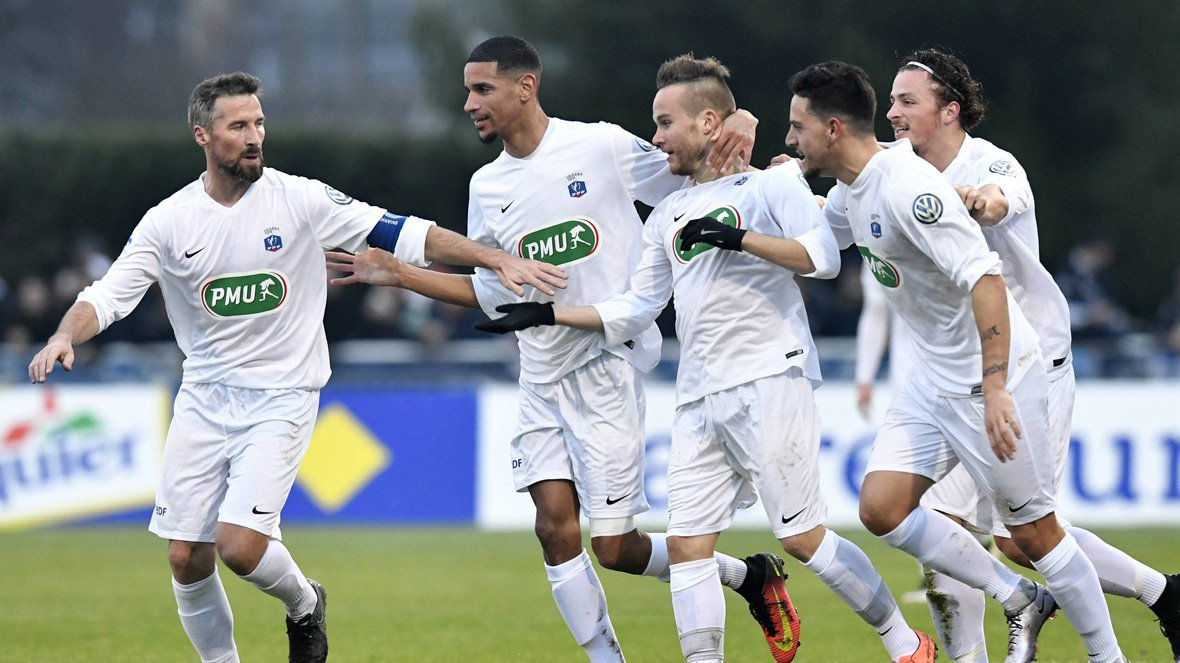 Coupe de France: Granville tire le gros lot en 32e de finale