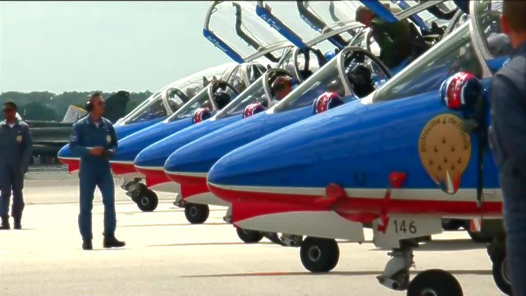Meeting de l'air à Evreux : la Patrouille de France volera 2 fois ce week-end
