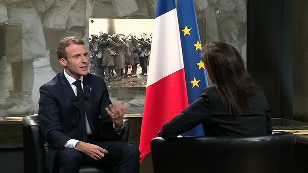 REPLAY. Revoir l'interview d'Emmanuel Macron sur France 3