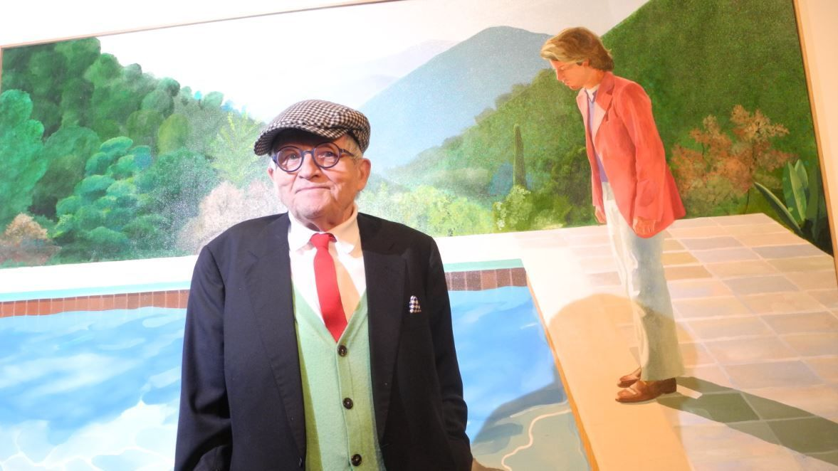 Le peintre contemporain le plus cher au monde, David Hockney, veut revisiter la tapisserie de Bayeux