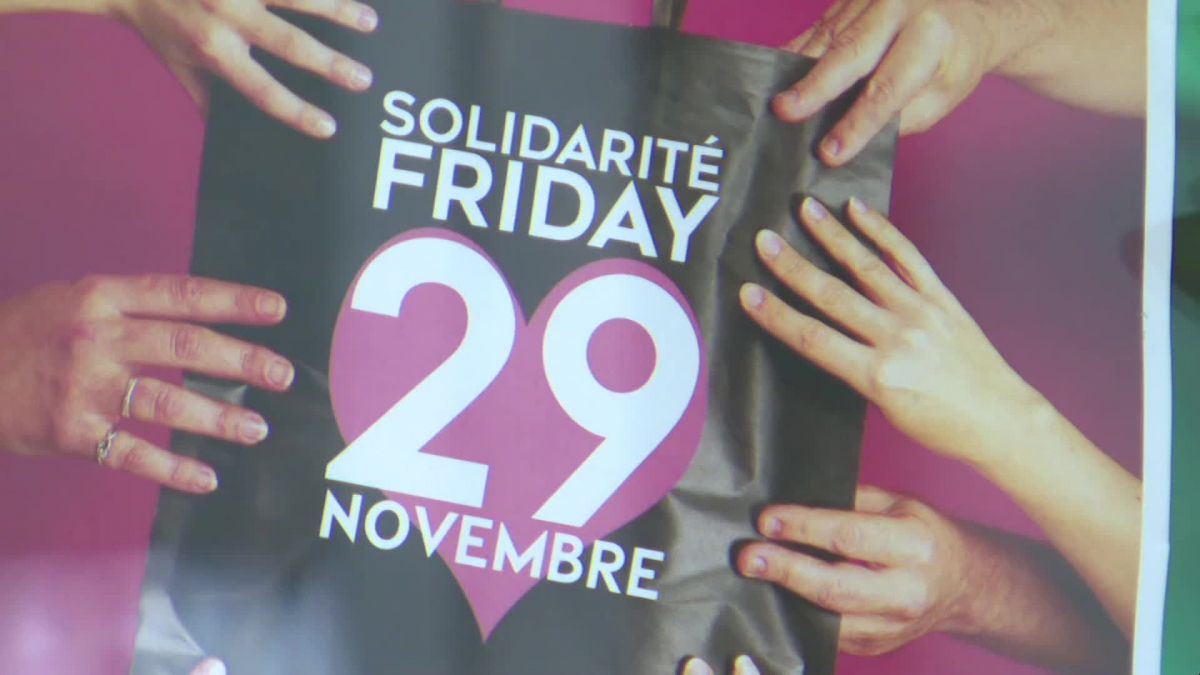 Solidarité Friday à Cherbourg / © France Televisions