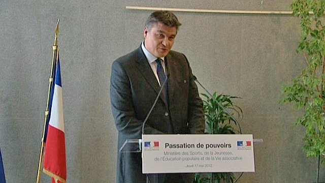 David Douillet en mai 2012 / © France 3 Haute-Normandie