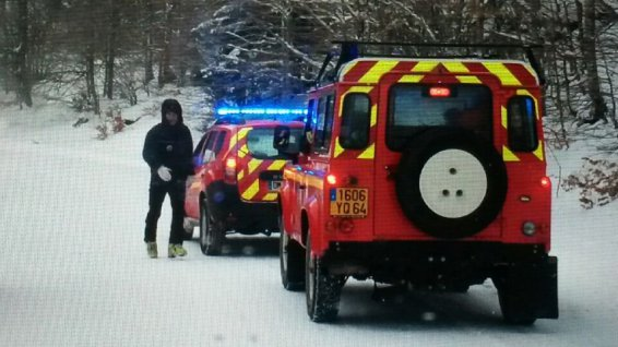 15 firefighters for specialized gendarmes of the pack of the high mountains have been mobilized on Saturday after-noon in the Valley of'Ossau. © E. Poussard