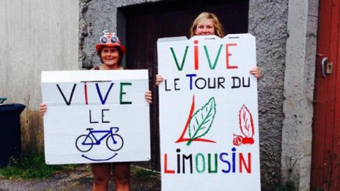 Tour du Limousin : photos souvenirs...