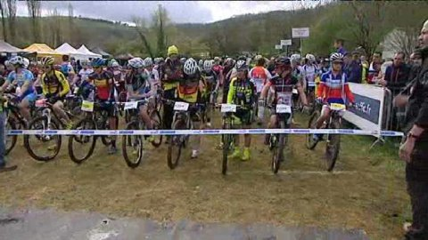 Coupe de France de VTT à Saint-Pompont