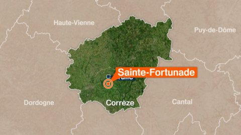 Corrèze : accident mortel à Sainte-Fortunade