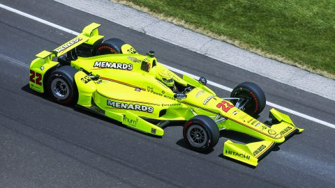 IndyCar : les images du crash de Simon Pagenaud