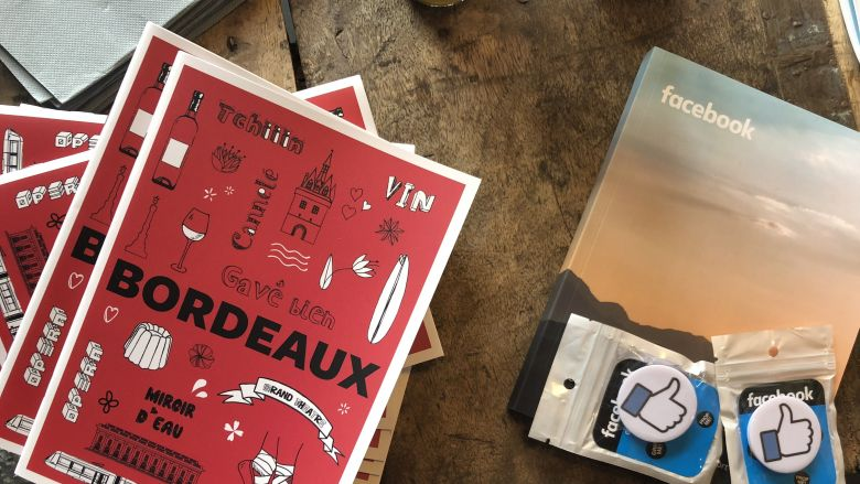 Le guide Facebook de Bordeaux / © MK - France 3 Aquitaine