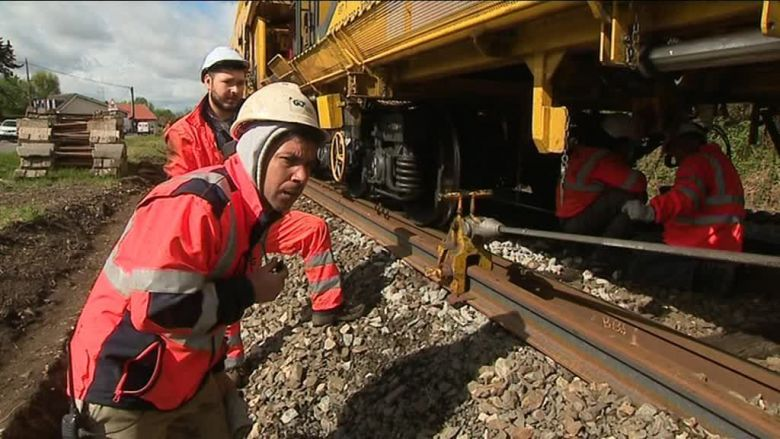 Le train usine / © PascalTINON/ France 3 Perigords