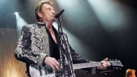 Johnny Halliday en concert à l'Olympia (archives) / © AFP PHOTO MEDHI FEDOUACH