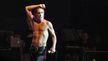 Iggy Pop sera également LA tête d'affiche de Lost in Limoges 2016. / © AFP PHOTO/ STEPHANE DANNA