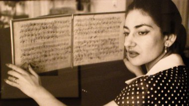 Maria Callas - 1955 / © ccbysharonmollerus via flickr