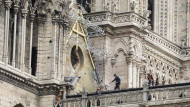 Notre Dame-de-Paris lors de sa reconstruction / © Max PPP IP3 Press