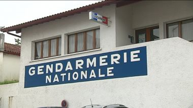 La gendarmerie nationale à Hasparren, dans le Pays basque. / © France 3