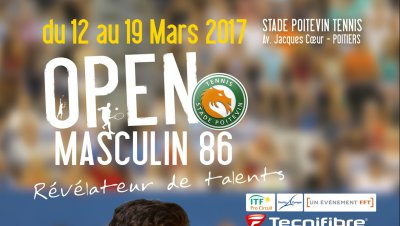 Open de Tennis masculin de Poitiers : en direct tout le week-end sur France 3 Nouvelle Aquitaine