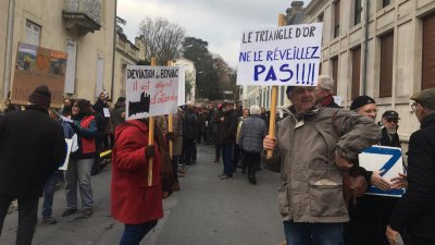 Beynac : encore 250 manifestants ce week-end contre la déviation