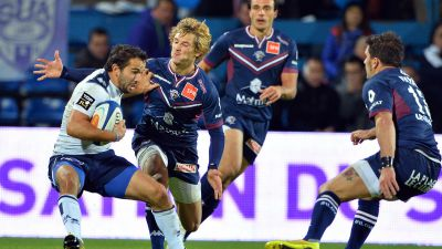 Top 14 : l'UBB s'impose à Agen, Pau s'incline à Grenoble