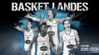 Eurocup women : match Basket Landes vs. AE Sedis