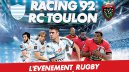 TOP 14 : J-1 pour Racing 92 -Toulon