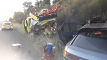 accident A62 Lot et Garonne photo des pompiers