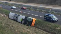 accident bus a61