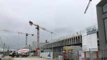 chantier des bassins à flots Bordeaux