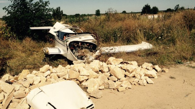Les questions autour de l'accident d'avion de Saint-Just-Luzac en Charente-Maritime hier