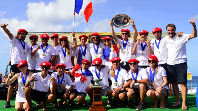 Surf : la France est championne du monde Junior