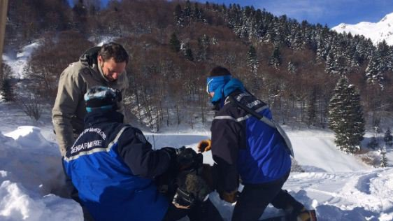 gendarmes exercice avalanches