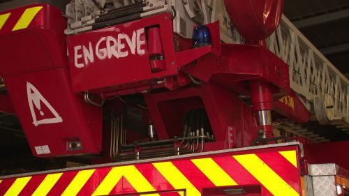 Nouvelles casernes de pompiers à Poitiers : les travaux avancent bien sur fond de grève