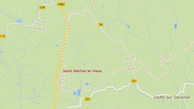 Saint-Martial-le-Vieux (23) / © Google Maps